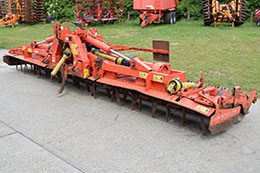 KUHN HR 6003 6m hydraulic folding powerharrow