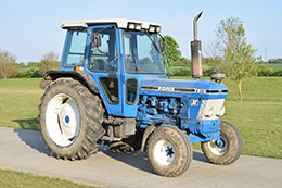 FORD 7810 2wd tractor