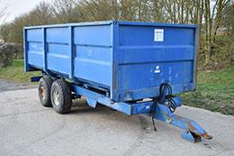 AS MARSTON 10 tonne grain trailer