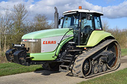CLAAS Challenger 55 rubber track crawler
