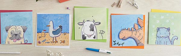 Buy Birthday & Greetings Cards from Helen Wiseman Illustration
